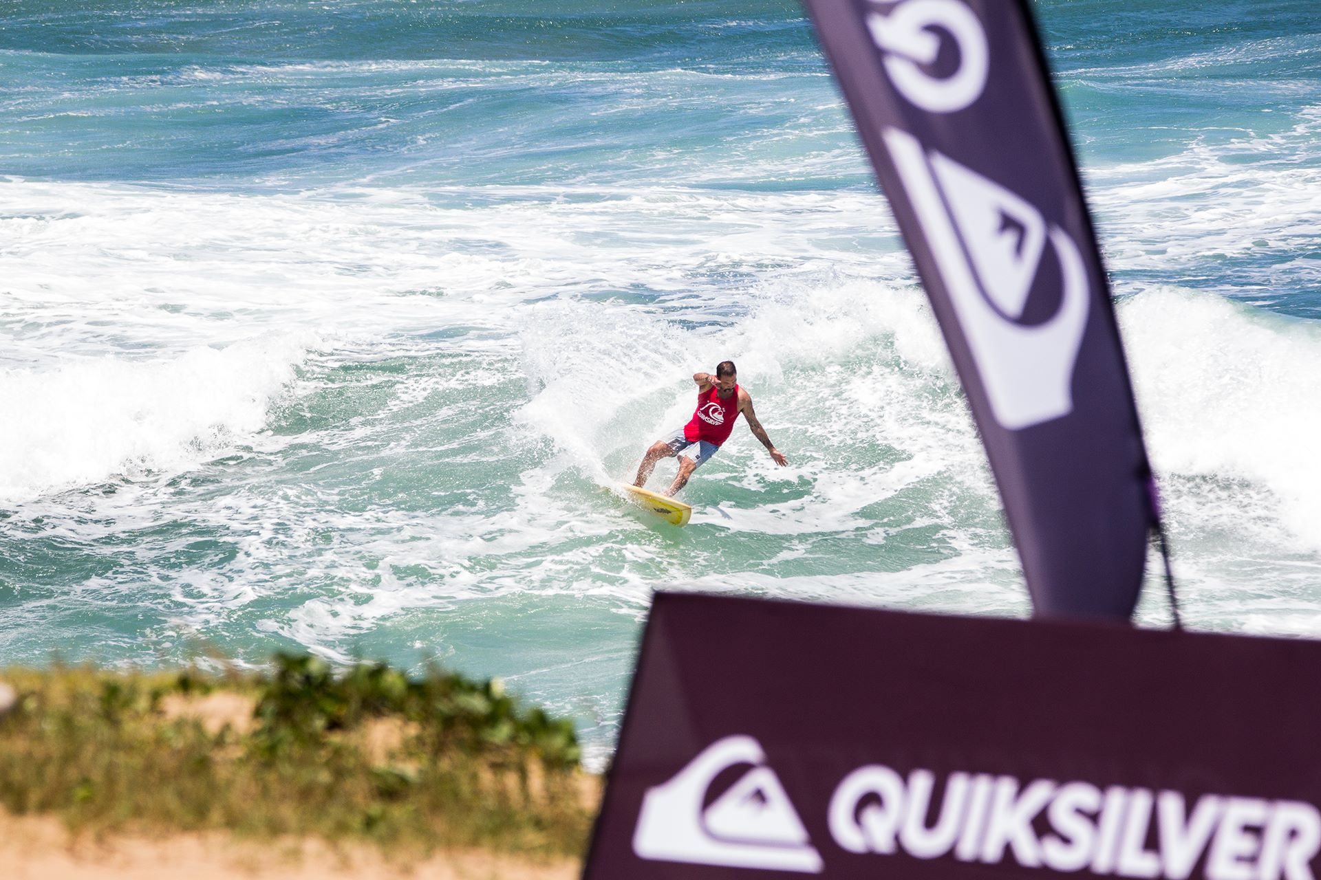 Details for the 2016 Quiksilver Off The Lip Movember Surfing Jam