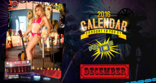 Video: Miss December Calendar Girl Carmi Wilmans