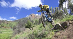 Some insanely awesome and raw footage of 12 year old Downhill MTB shredder Ike Klaassen schooling us on his DH course in Vuurberg, Cape town