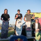 Men's podium at stop 1 of the South African Wakeskate Tour