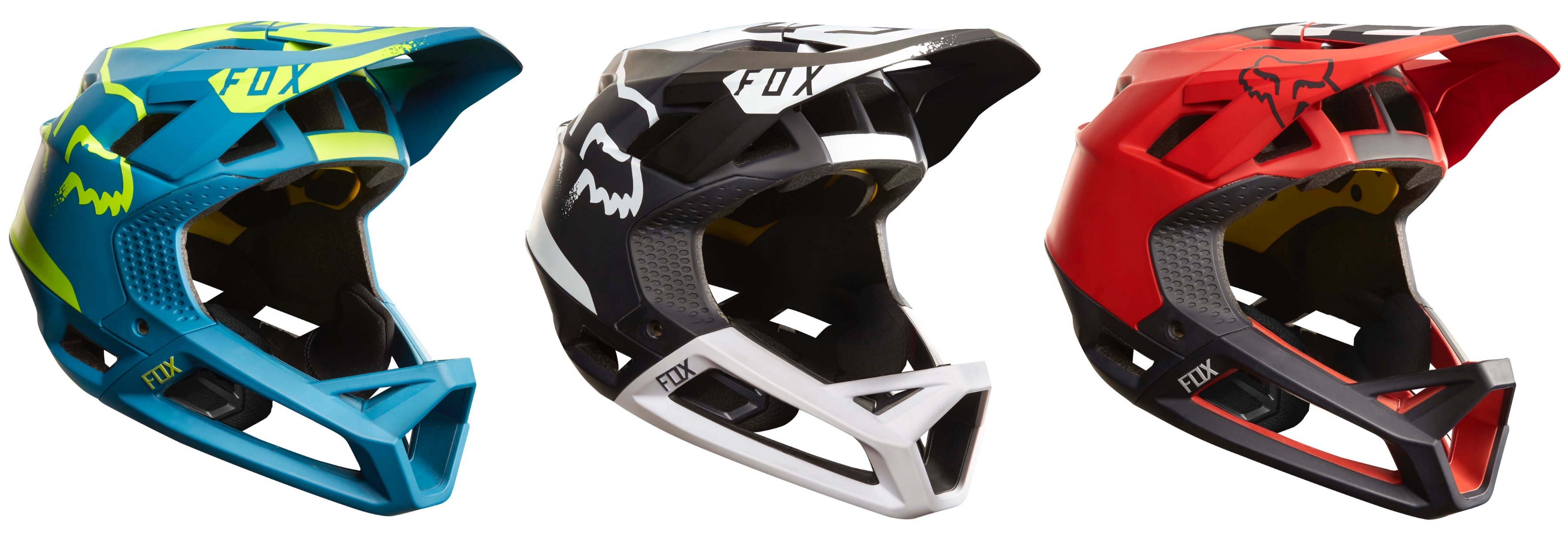 The all new Fox Proframe All Mountain helmet is here