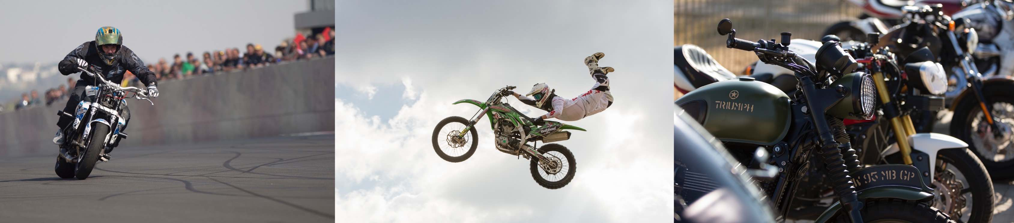 Some of the action festival goers will experience at the South Africa Bike Festival