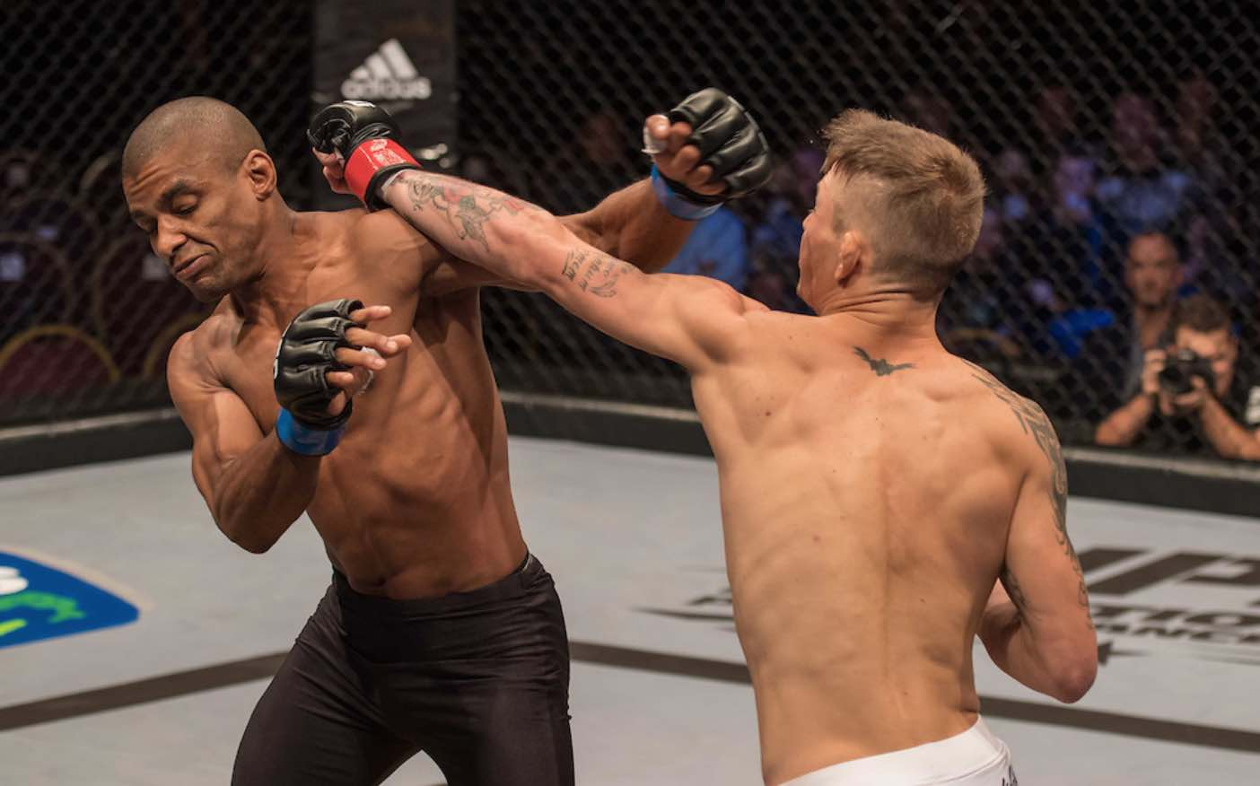 MMA fighters Yusuf Hassan and Devon Cronje take each other on at EFC 57