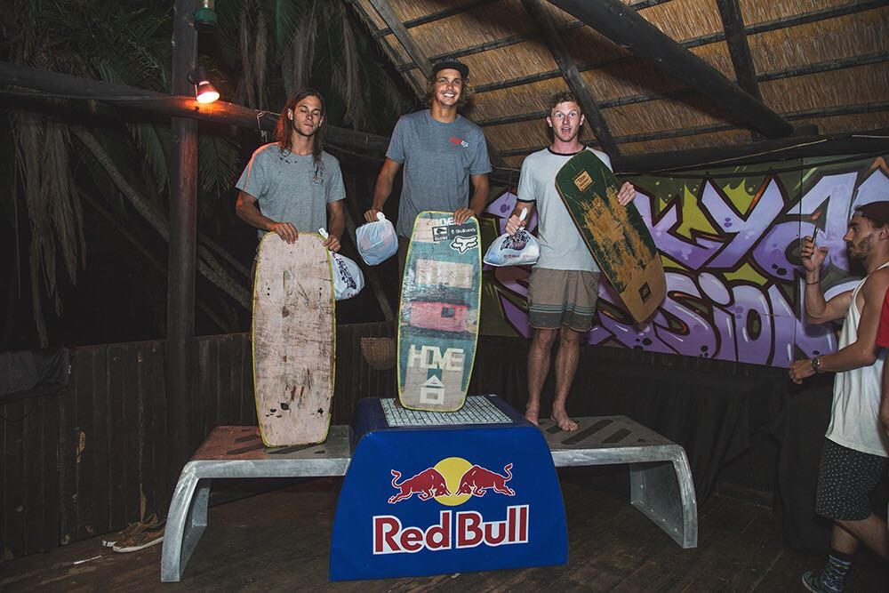 Stop 2 of the South African Wakeskate Tour Podium