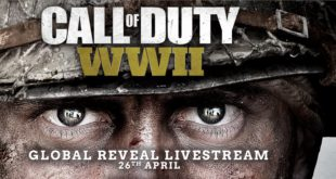 Watch the worldwide reveal of Call of Duty WWII today (26 April) at 7pm, South African Time: