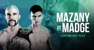 Don Madge vs Dave Mazany at EFC 58