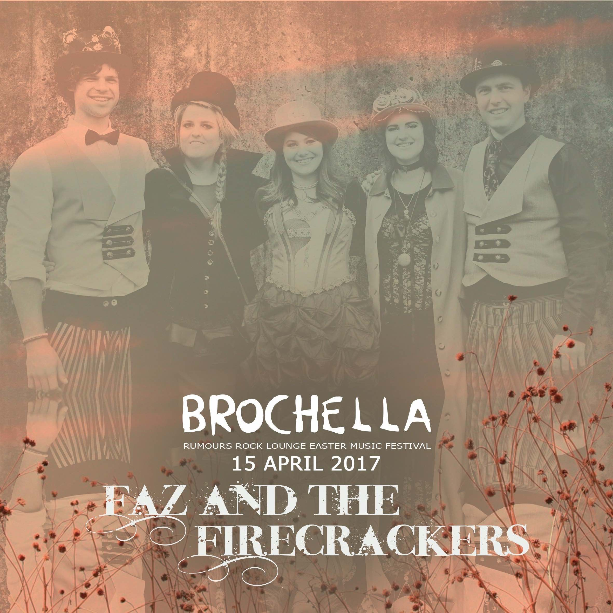 We interview Faz and the Firecrackers about Brochella Festival