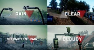 Get ready to hit the gas and tackle the unpredictable. MXGP3 brings dynamic weather conditions to the game, from heavy rain to clear and sunny.