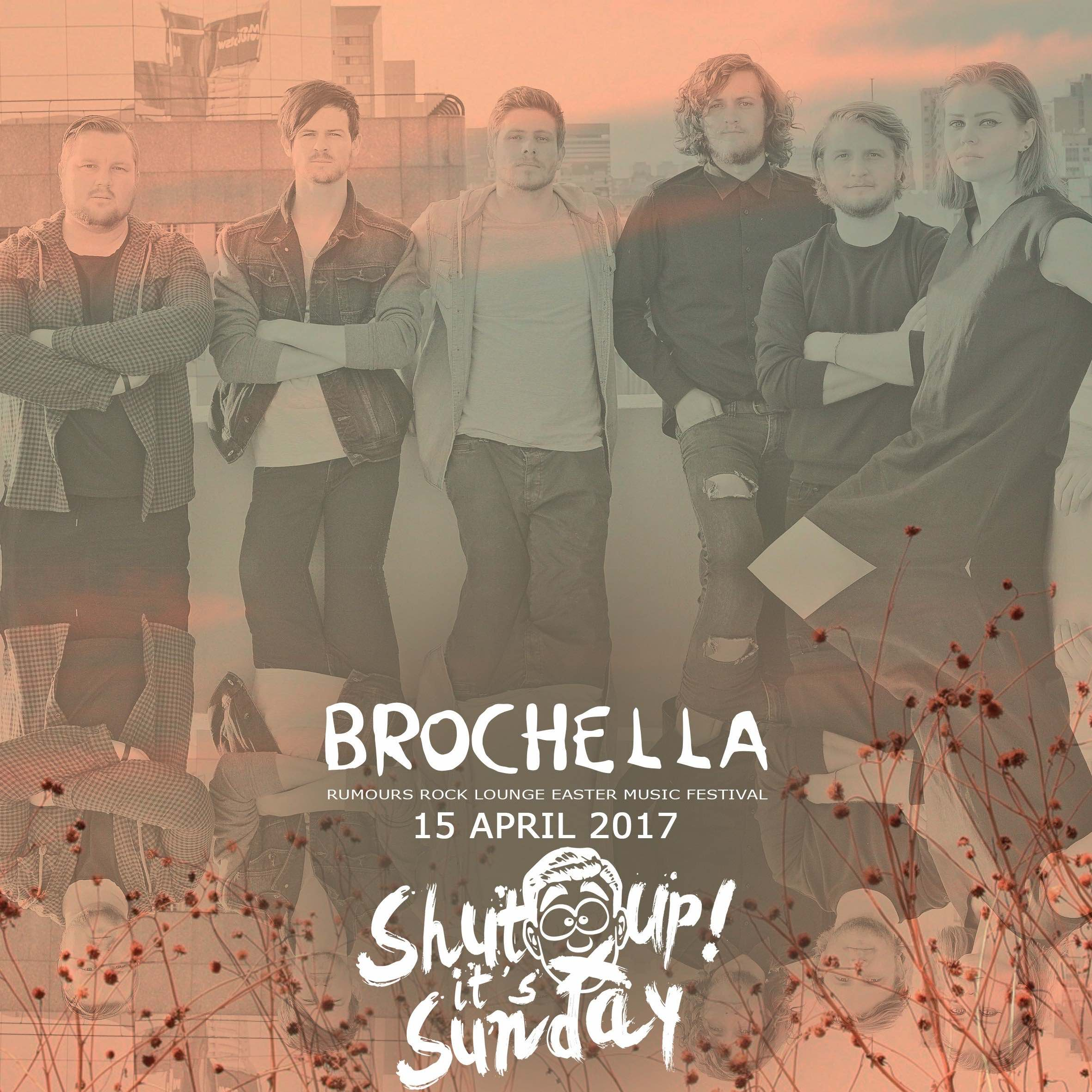 We interview ShutUp! It's Sunday about Brochella Festival