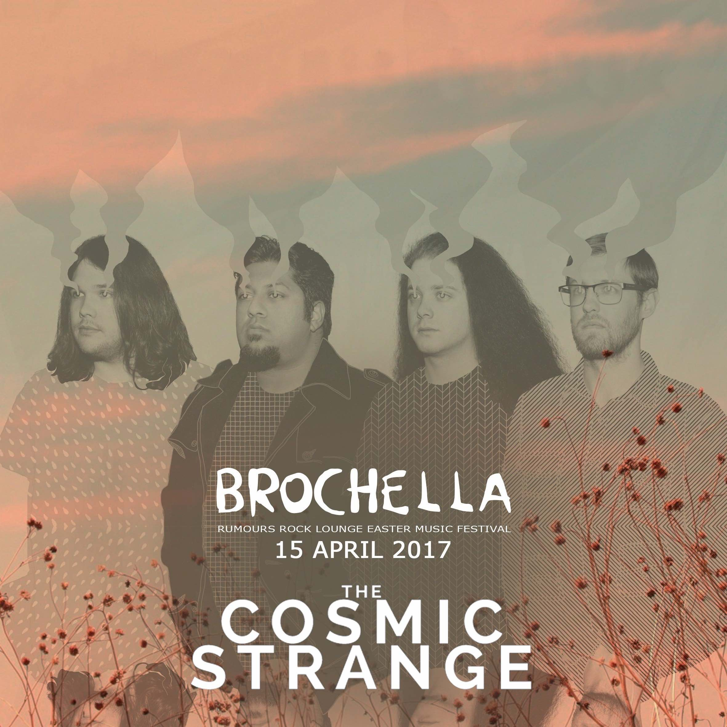 We interview The Cosmic Strange about Brochella Festival
