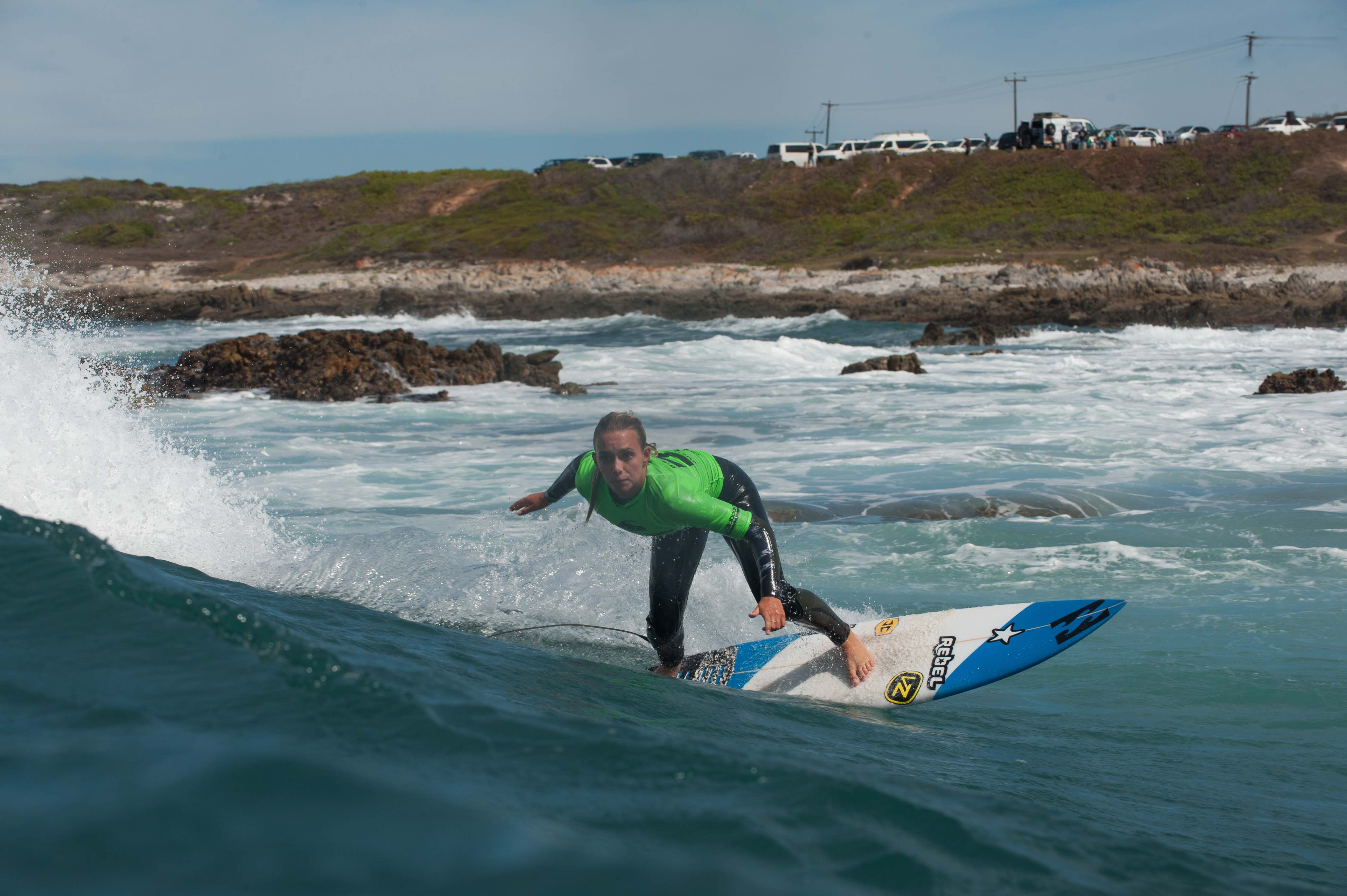 Surfing at its best at the Billabong Junior Series