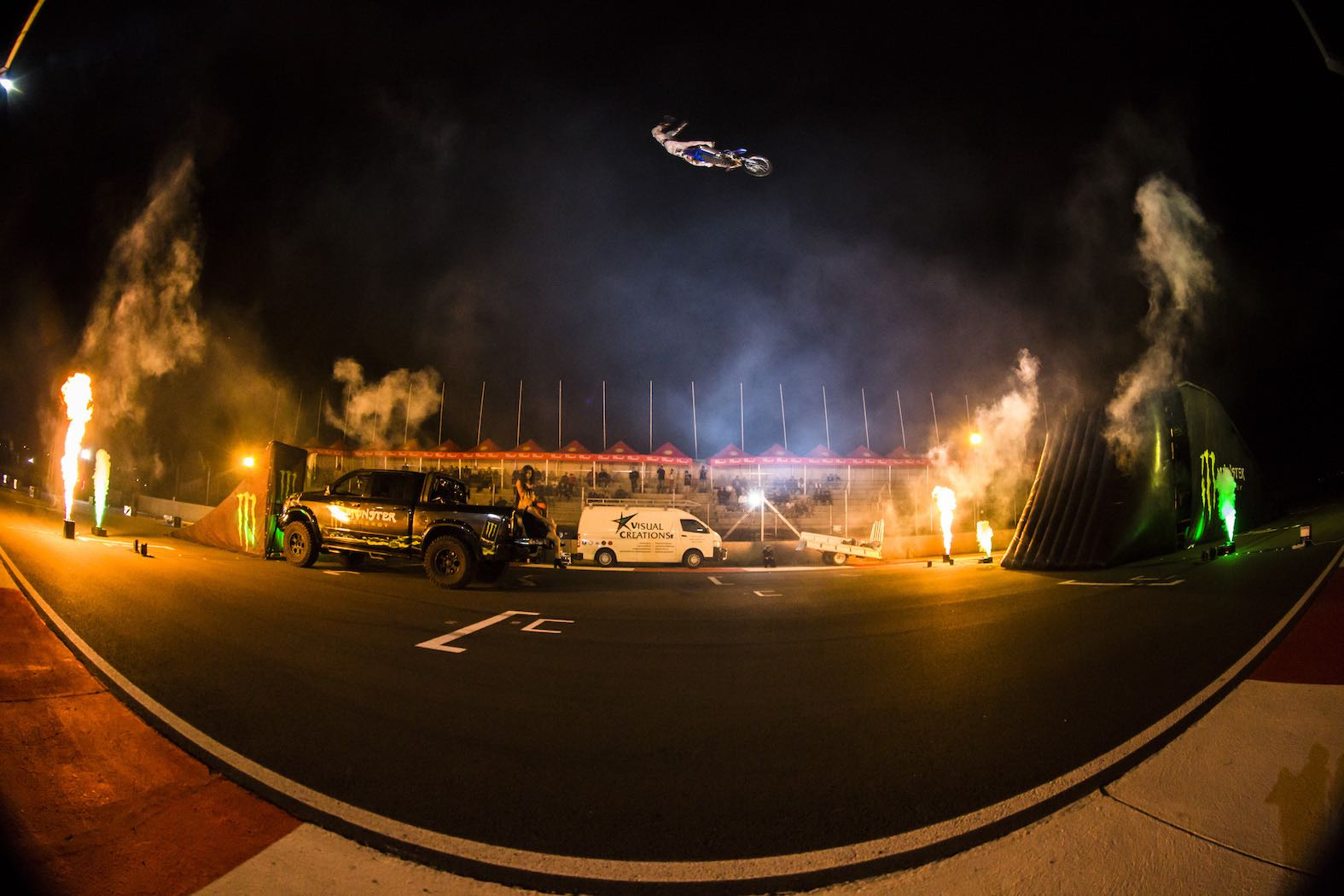 Monster Energy Freestyle Motocross Flight Night