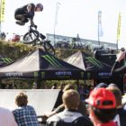 Murray Loubser winning the Ramp Rodeo BMX contest at the SA Bike Fest
