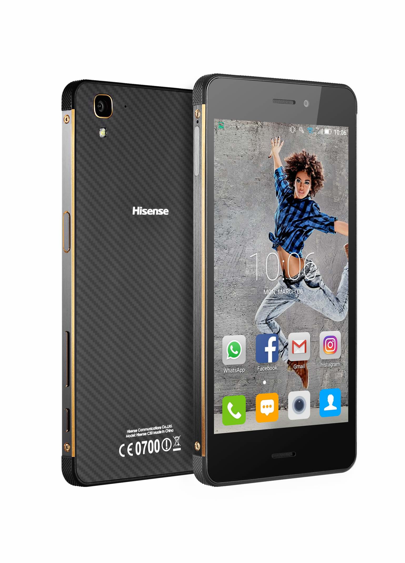 Check out the new Hisense C30 Rock Smartphone