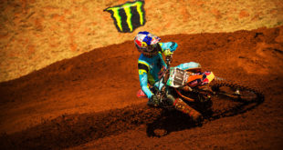 Kerim Fitz-Gerald racing his way to vicar at the Bloemfontein MX National