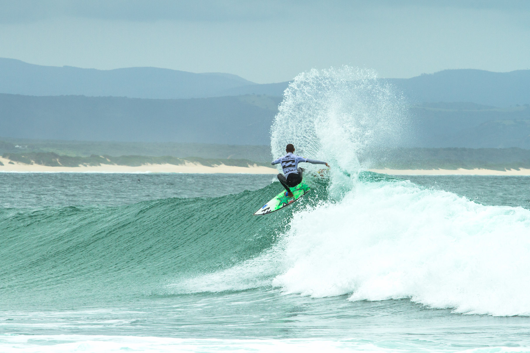 Surfing at it best at the BOS Cape Crown in Cape Town