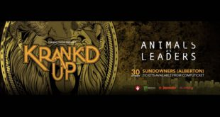 Animals As Leaders Announced for Krank'd Up 2017