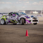 Drifting action from Round 1 of the 2017 SupaDrift Series