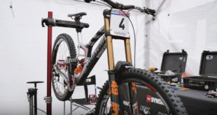 Go behind the scenes during testing of the V10 29er, and the first round of the Downhill MTB World Cup from Lourdes in Episode 1 of the The Syndicate.