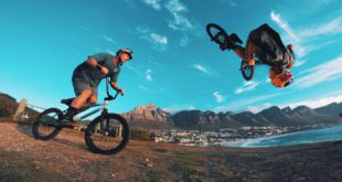 Filmmaker, Chris Rogers spent some time filing with one of the country's top BMX riders, Murray Loubser.