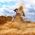 One of Africa's fastest motocross ladies features in #SandDreams