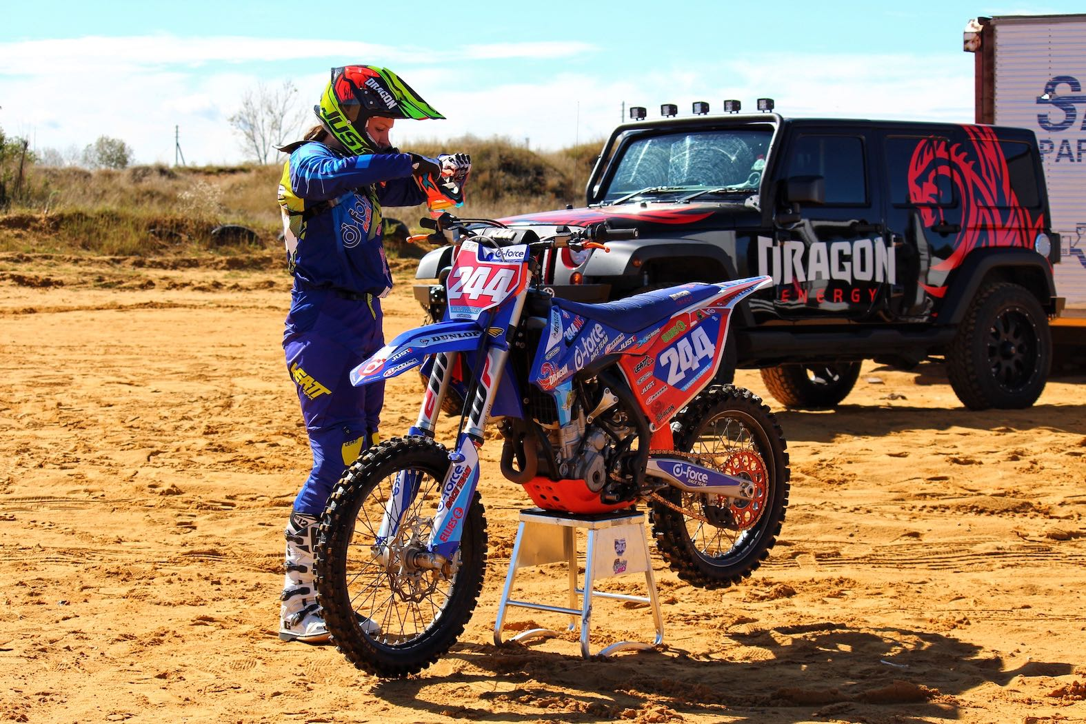 Nanda Clowes talks motocross for our #SandDreams feature
