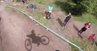 Go onboard with the master, Greg Minnaar, during a practice run at the Fort William UCI Downhill MTB World Cup: