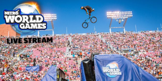 2017 Nitro World Games Live Broadcast