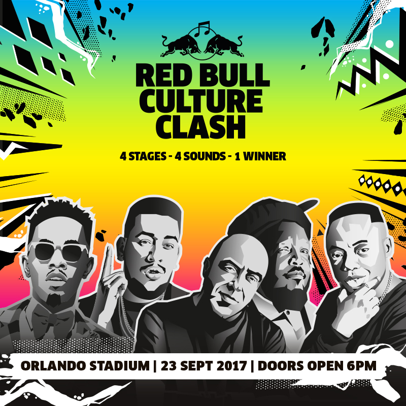 Red Bull Culture Clash coming to South Africa in September 2017