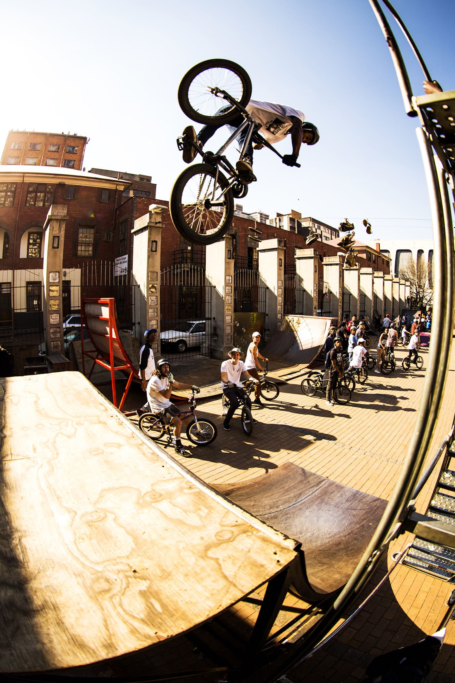 BMX action at its best in the heart of Joburg
