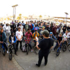 Riders briefing at BMX Day 2017