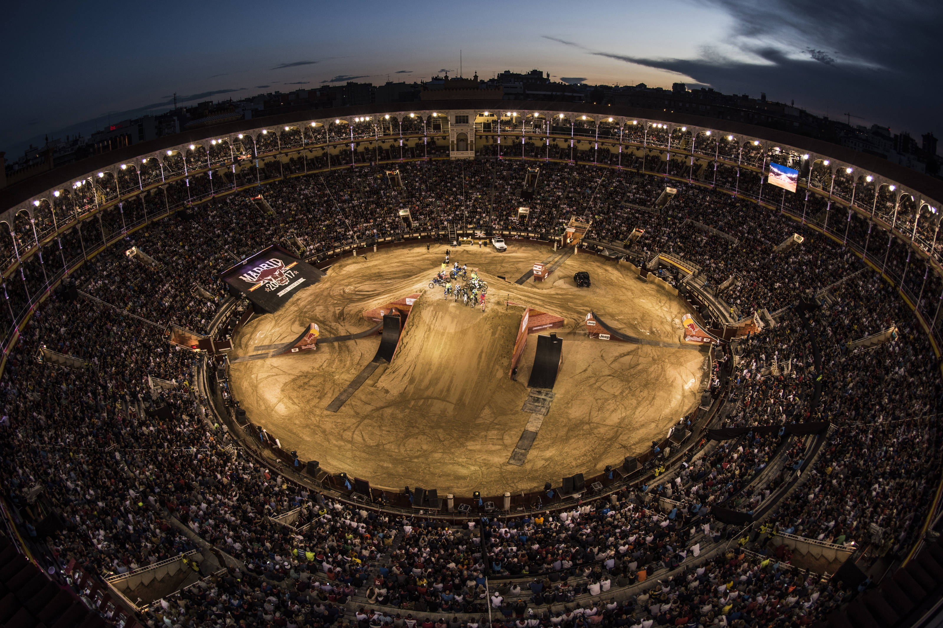 FMX action at it's best at the 2017 Red Bull X-Fighters Madrid event