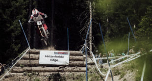Greg Minnaar scored his 21st career World Cup win at round 5 of the 2017 UCI Downhill MTB World Cup series in Lenzerheide, Switzerland over the weekend.