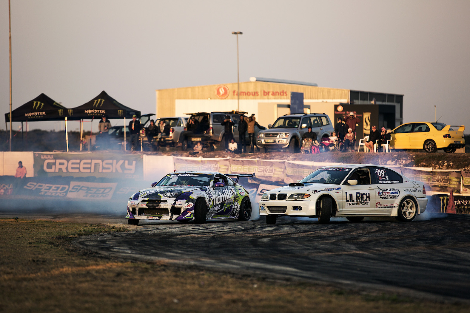 Close drifting battles took place at the 4th round of the 2017 SupaDrift series
