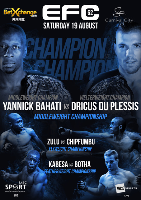 EFC 62 featuring 12 exciting Mixed Martial Arts fights