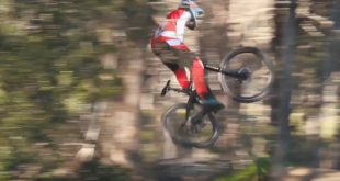 Some cool, raw footage of Jason du Toit pinning it down the Paarl Downhill MTB track.