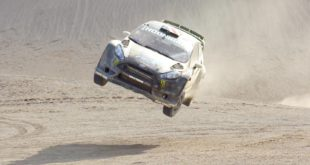 Ken Block takes Gymkhana off-road in this latest edit - Terrakhana. Sit back and enjoy as Block takes his Ford Fiesta ST RX43 to the limit in Swing Arm City