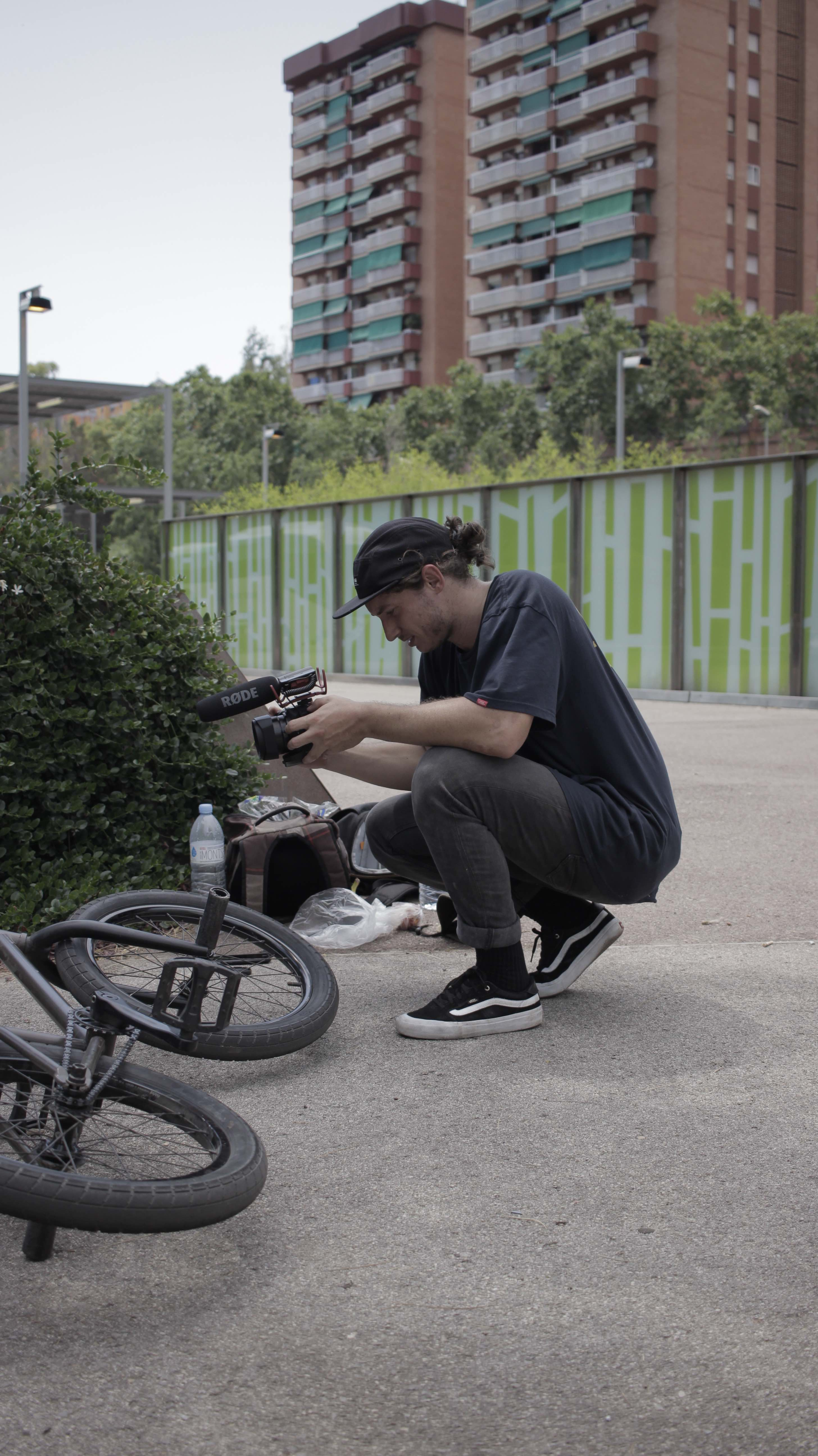 Filming BMX in Spain for Snacking Barcelona