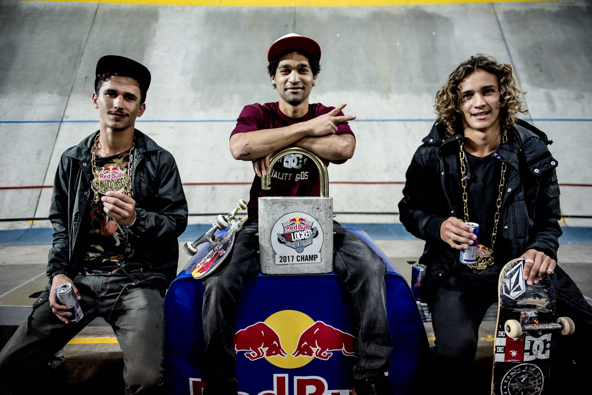 Red Bull Unlocked 2017 Podium