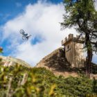 Diego Caverzasi placing 2nd in the 2017 Suzuki Nine Knights Slopestyle event