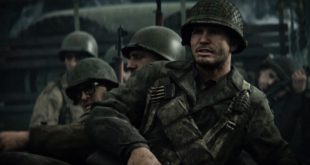 "As a recruit, Private Ronald ""Red"" Daniels experiences combat for the first time on D-Day. Watch the Call of Duty WWII Story Trailer here."
