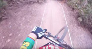 Take a fast and loose ride with Greg Minnaar down the 2017 Downhill MTB World Champs course in Cairns, Australia.
