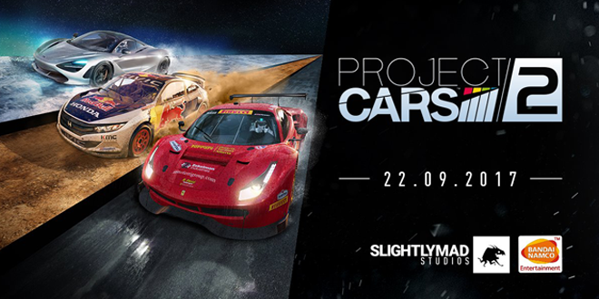 Project CARS 2 available now for PlayStation 4, Xbox One and PC