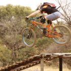 Enduro MTB action from round 3 of the hakahana enduro champs