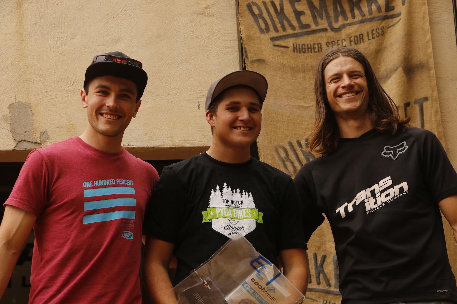 Bike Market Gauteng Enduro Round 3 Hakahana Elite Podium
