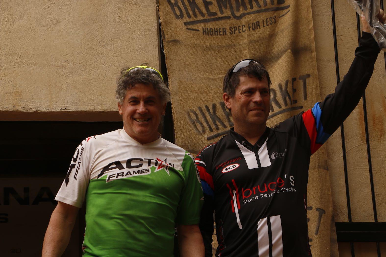 Bike Market Gauteng Enduro Round 3 Hakahana Masters Podium