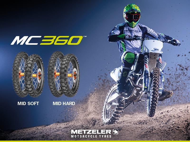 Meet Metzeler's new motocross tyre, the MC360