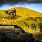 Bernard Kerr finishes 2nd in the 2017 Red Bull Hardline Downhill MTB race
