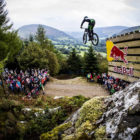 Craig Evans wins the 2017 Red Bull Hardline Downhill MTB event
