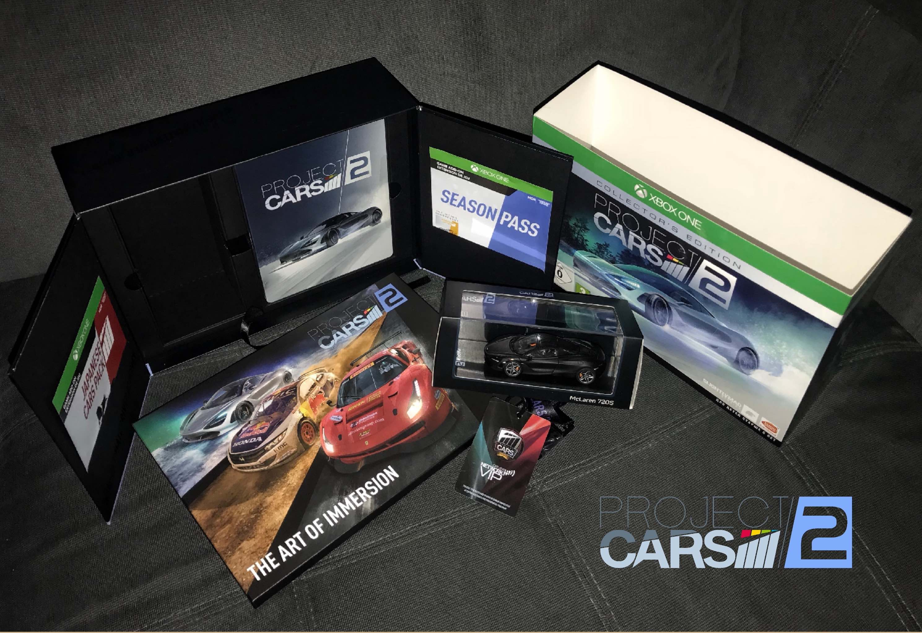 Stand a chance of winning this awesome Project CARS 2 Collectors Edition